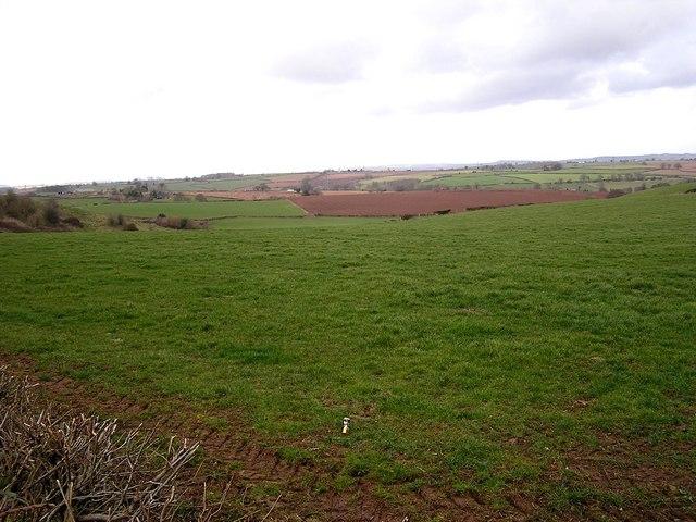 Farmland near Trewen