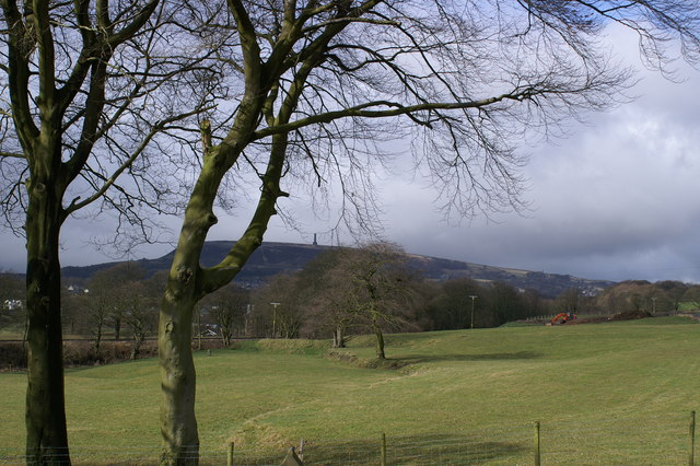 Towards Holcombe Hill