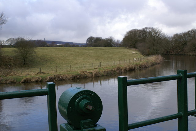 River Irwell, Burrs Country Park