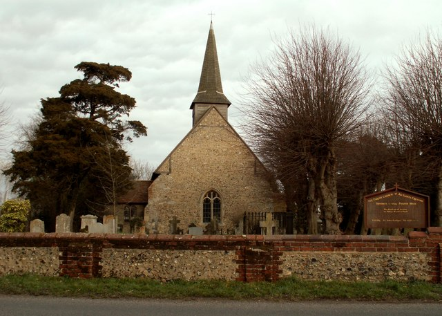 All Saints church, Cressing, Essex