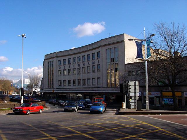 Debenham's and St James Barton Roundabout