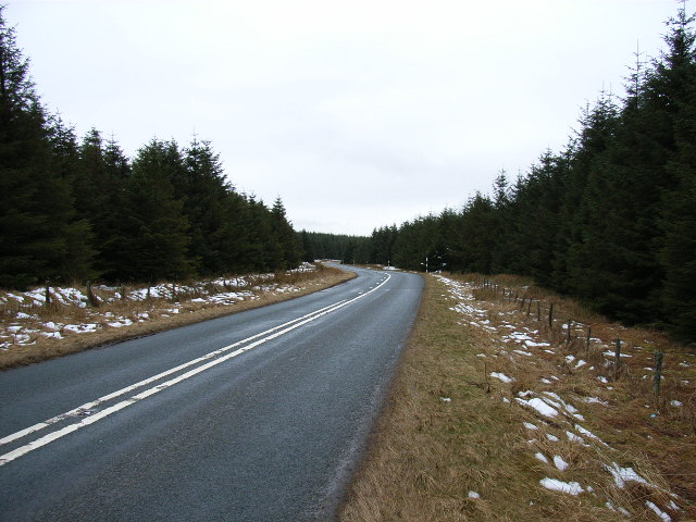 A686 near Clargillhead