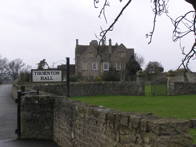 Thornton Hall, Staindrop Road Nr. Darlington