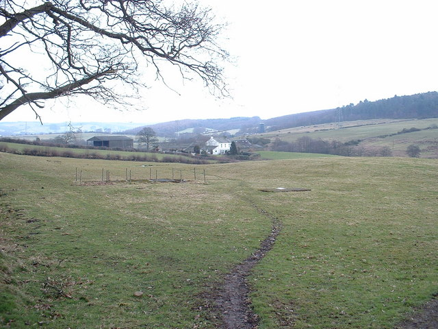 Looking towards Moorside Farm
