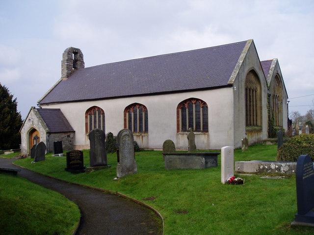 St Cynhafal's Church