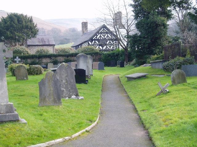 Llangynhafal Churchyard