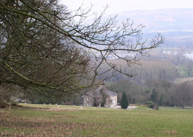 Vicarage at Llanrhaeadr yng Nghinmeirch