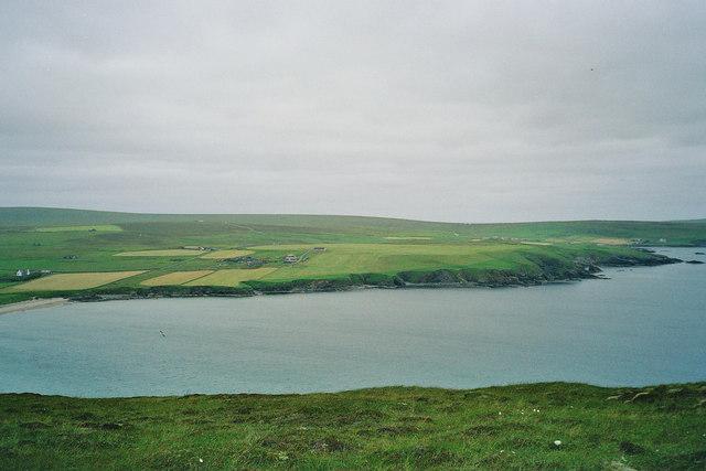 View towards Garths of Tresta