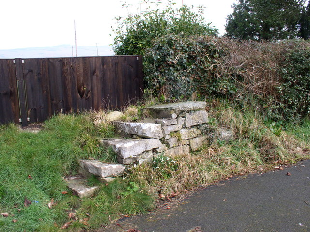 Mounting block at St Hychan's