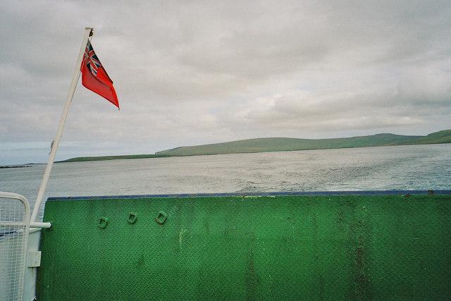 View towards Fetlar from Yell-Fetlar Ferry