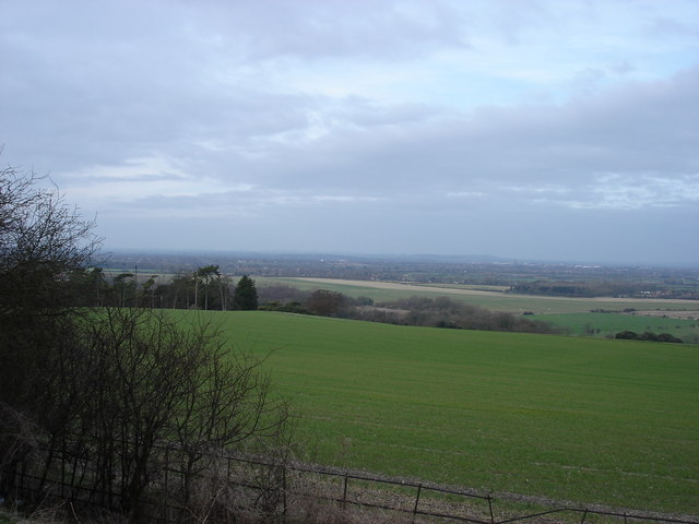 Looking northwest towards Aylesbury