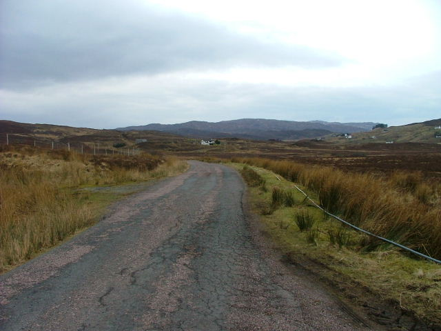 Road to Drumfearn