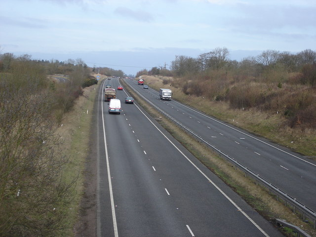 A41 West, towards Tring