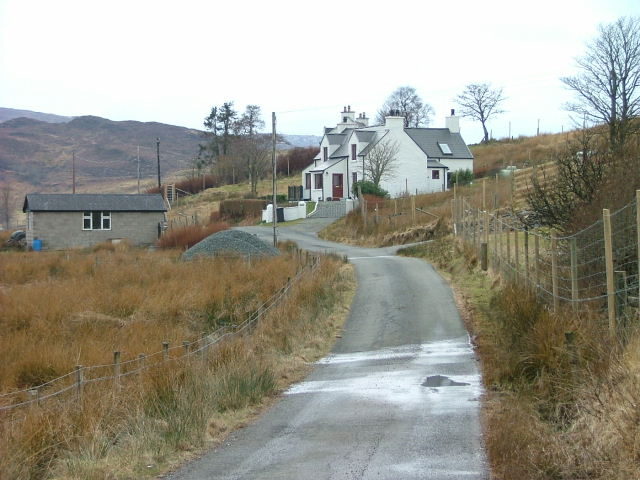 House on the Drumfearn Road