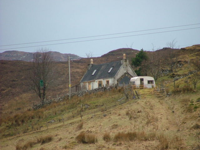 Old Crofthouse in Drumfearn