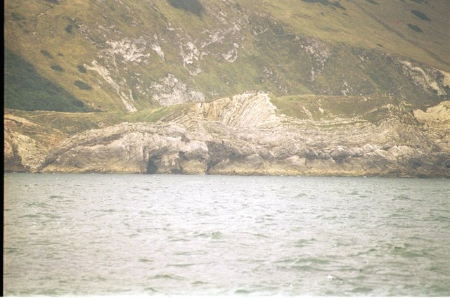 Stair Hole from the Sea