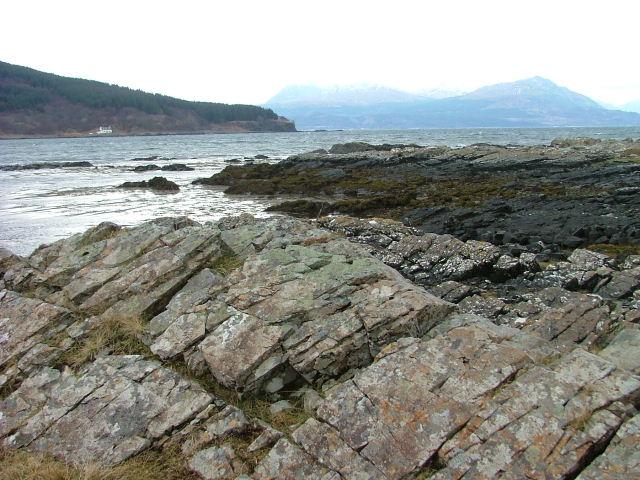 Rocks at Loch na Dal