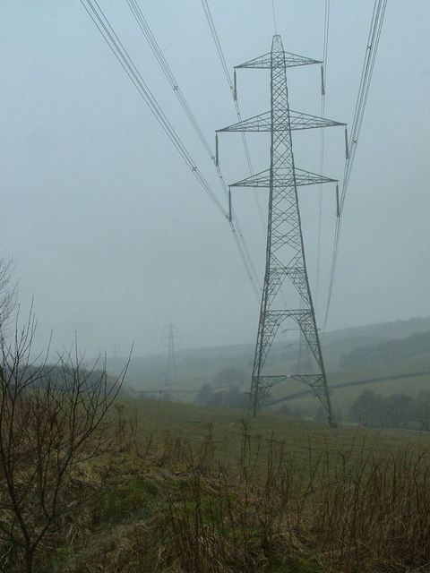 Electricity Pylon, Upper Don Valley