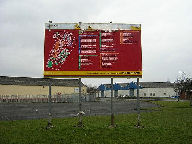 Netherton Industrial Estate Near Wishaw