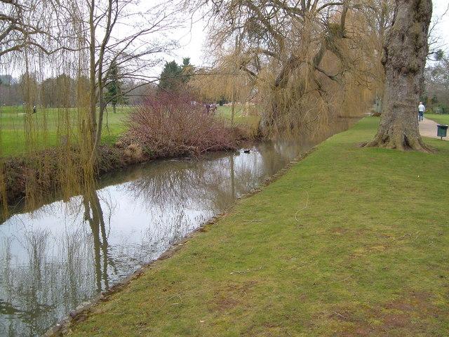 Sherford Stream, Vivary Park, Taunton