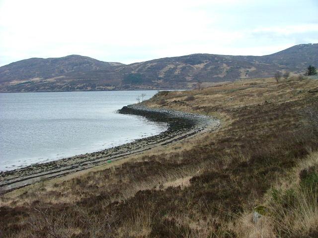 Shore of Loch Ainort
