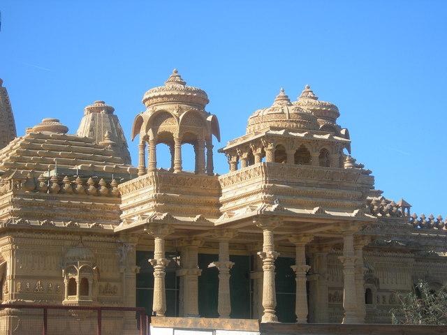 Hindu Temple being built