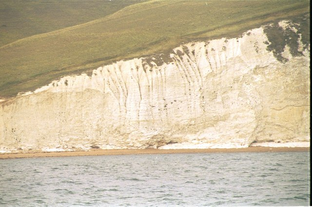 Cliffs between Swyre Head and Bats Head