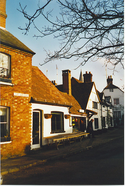 The Square, Shere.
