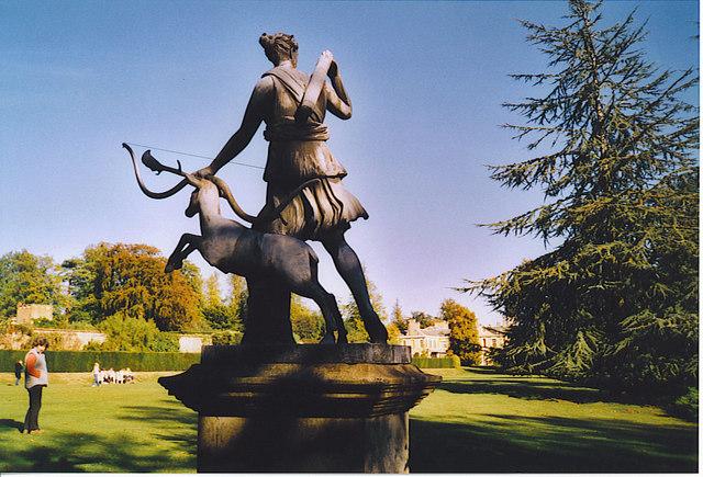Polesden Lacey Gardens.