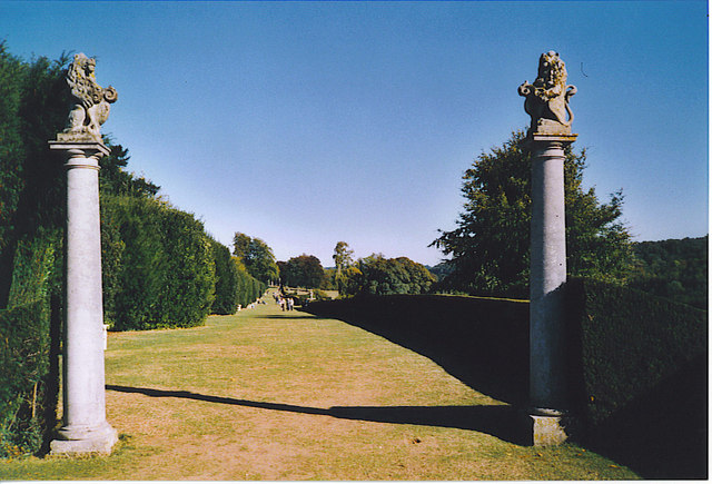 Gateway to The Terrace, Polesden Lacey.