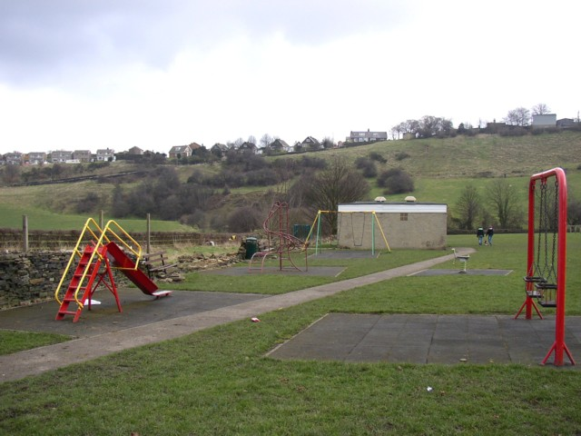 Play Area at the end of Carr Green Lane, Rastrick (SE139211)