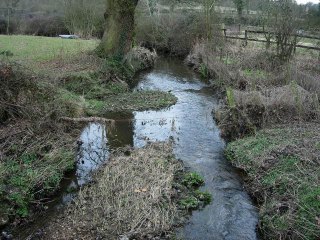 Stream under minor road