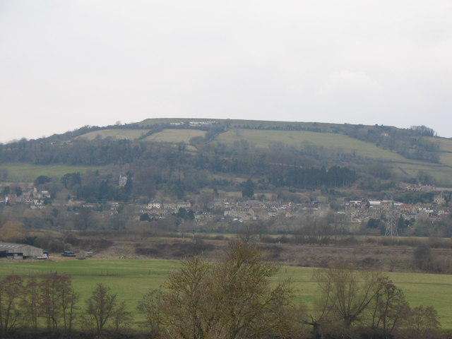 Little Solsbury Hill viewed from Bathford