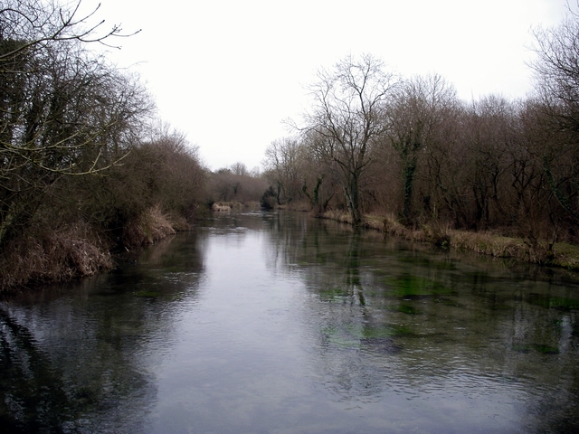 River Itchen near Lovington House