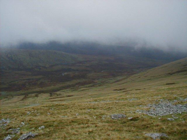 Valley of Afon Caseg