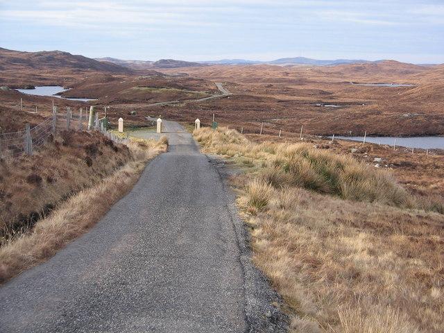 Gates at Eisgein, Isle of Lewis