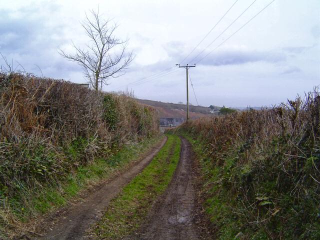 Entrance to a South Devon farm