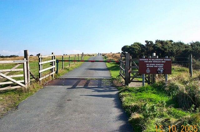 Entry to Dartmoor