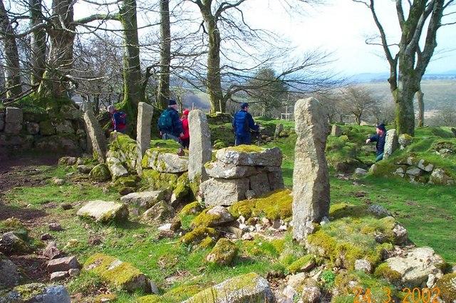 Ruins of Doe Tor Farm - Dartmoor