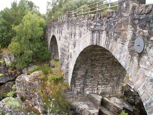 Allt Dubh bridge