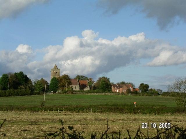 Grafton Flyford church and rectory