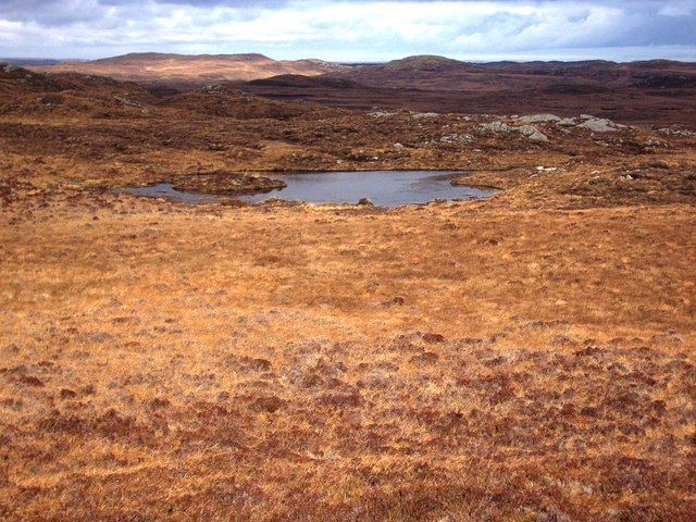 Blanket bog and lochan, Isle of Lewis