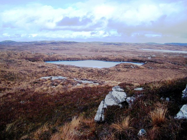 Lochan and blanket bog, Isle of Lewis