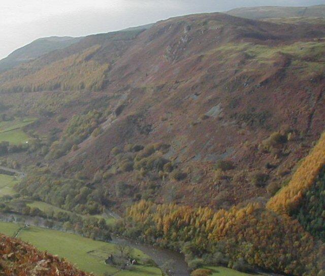 Valley of Afon Mawddach