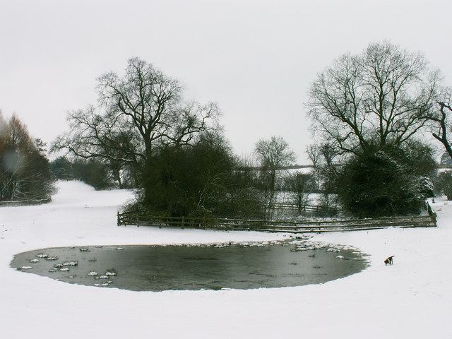 Pond at Rossall Farm