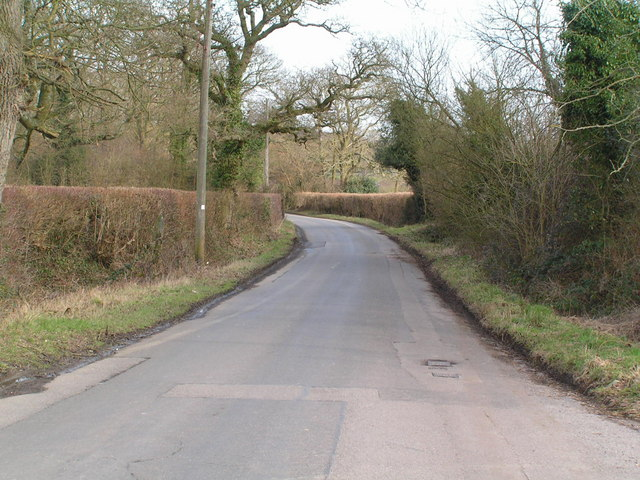 The road to Chiddingstone Hoath