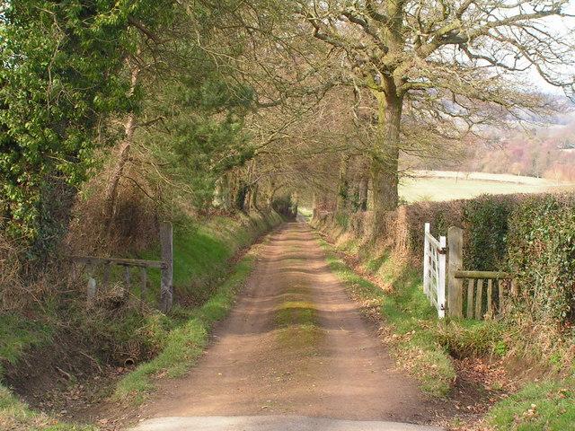 Footpath through Chafford Park