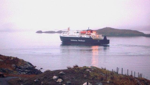 Ferry from Tarbert, Harris