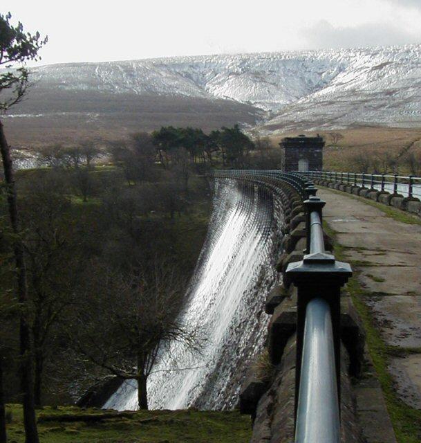 Grwyne Fawr Reservoir dam
