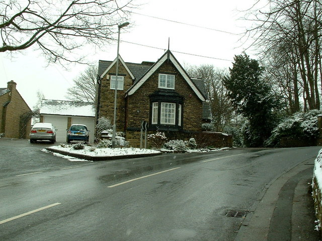 Junction of Chapel Hill and Hopton Hall Lane